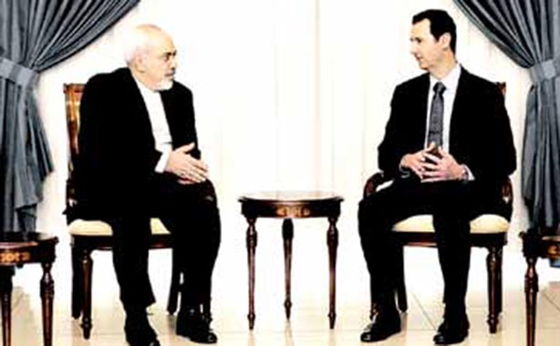 Zarif Discusses Peace Talks with Assad, King Abduallah